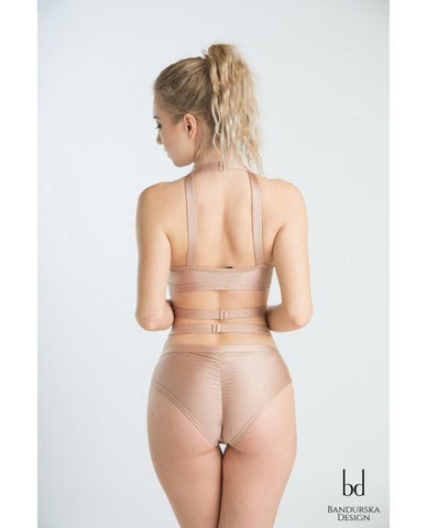 Down to Earth Top - Nude-Bandurska-Pole Junkie