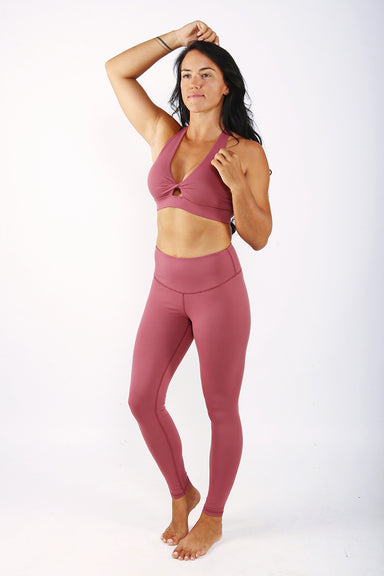 Off The Pole Lifestyle Leggings - Dusty Pink-Off The Pole-Pole Junkie