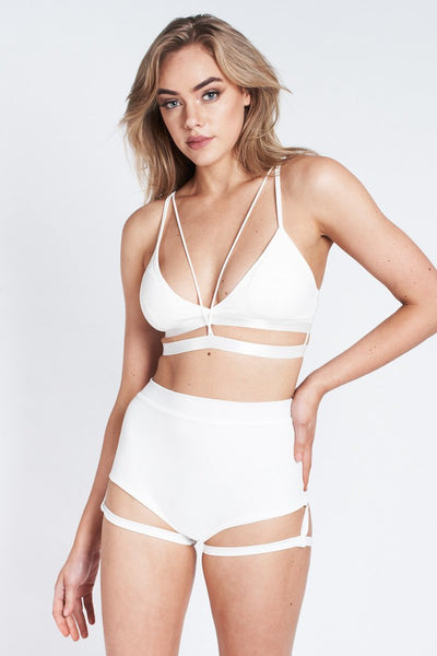 Bella Top - White-Luna Pole Wear-Pole Junkie