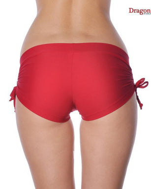 Dragonfly Emily Shorts - Red-Dragonfly-Pole Junkie