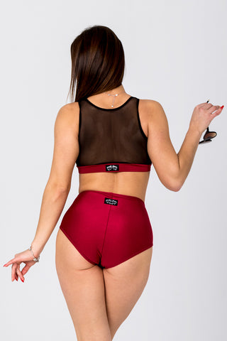 Force Top - Wine-Shark Polewear-Pole Junkie