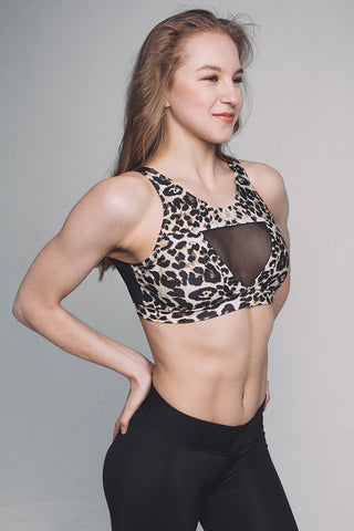 Force Top - Leopard-Shark Polewear-Pole Junkie