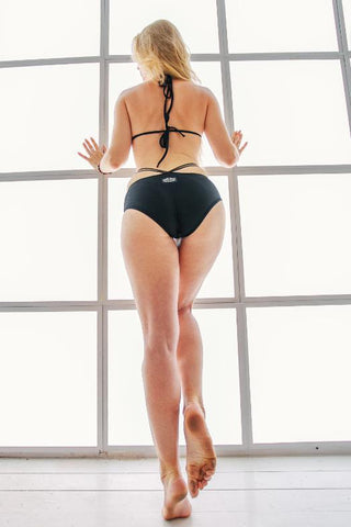 Fly Bodysuit - Black-Shark Polewear-Pole Junkie