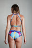 Geometric Floral Hot Pants-Pole Addict-Pole Junkie
