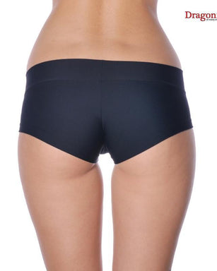 Dragonfly Hot Pants - Black-Dragonfly-Pole Junkie