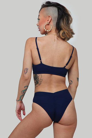 The Hills Bottoms 2.0 - Ribbed Navy-Creatures of XIX-Pole Junkie