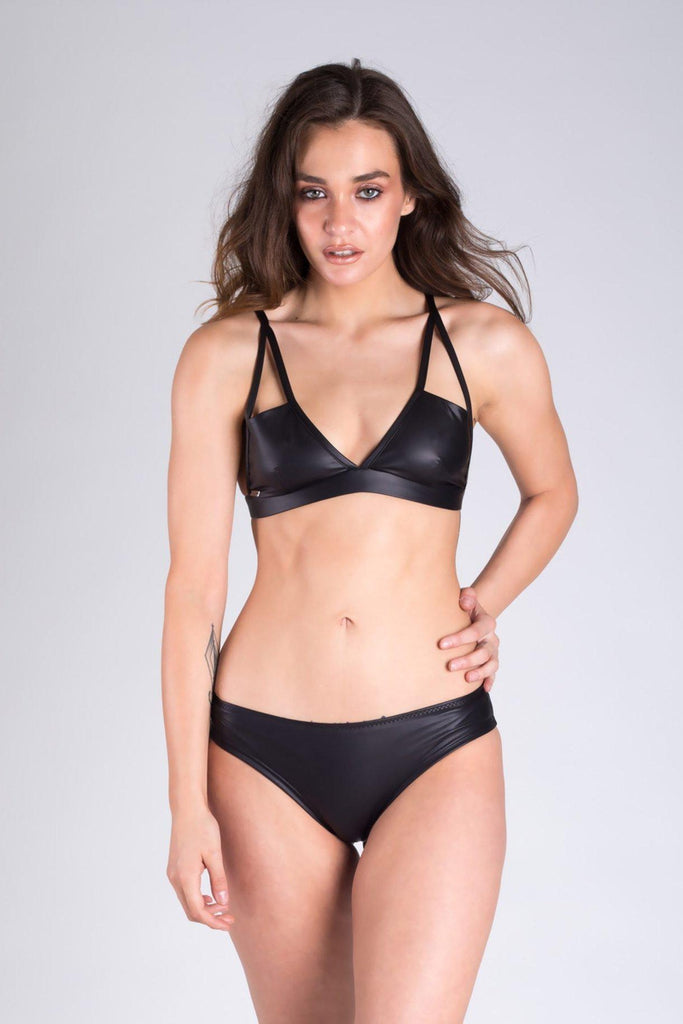 Joana Triangle Top - Panther-Paradise Chick-Pole Junkie