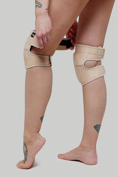 Creatures of XIX Velcro Kneepads - Sand-Creatures of XIX-Pole Junkie