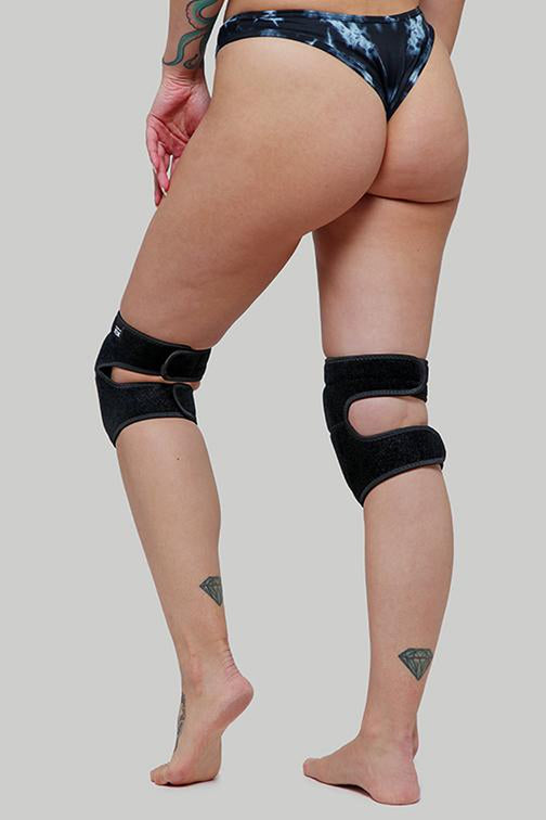 Creatures of XIX Velcro Kneepads - Black Panther-Creatures of XIX-Pole Junkie