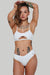Creatures of XIX The Hills Bottoms 2.0 - Ribbed White-Creatures of XIX-Pole Junkie