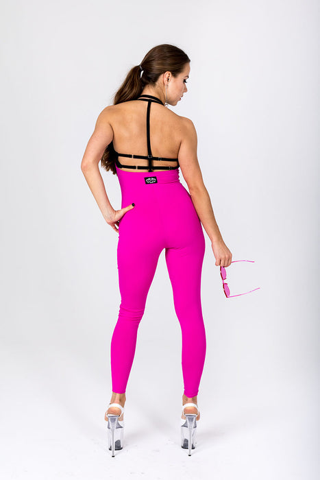 Sling Leggings - Hot Pink-Shark Polewear-Pole Junkie