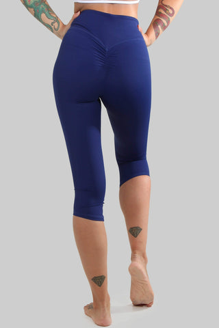 Capri Leggings - Indigo-Creatures of XIX-Pole Junkie