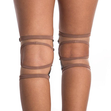 Poledancerka Knee Pads - Nude 02 (with Pocket)-Poledancerka-Pole Junkie