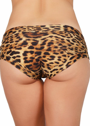 Cleo the Hurricane Hot Pants - Leopard-Cleo the Hurricane-Pole Junkie