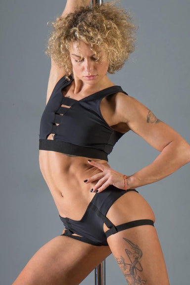 Paradise Chick Lisa Top - Black-Paradise Chick-Pole Junkie