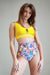 Pole Addict Floral Firework High Waisted Shorts-Pole Addict-Pole Junkie