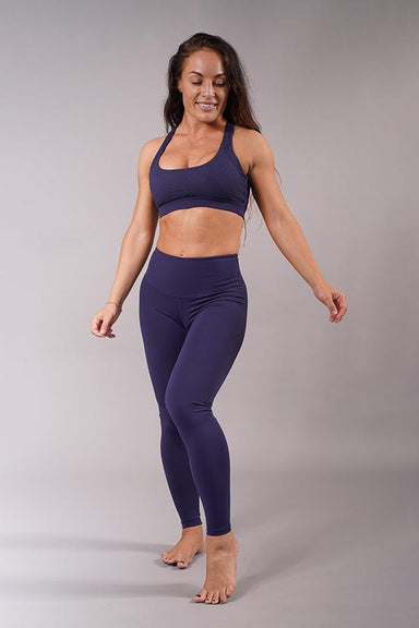 Off The Pole Lifestyle Leggings - Navy Blue-Off The Pole-Pole Junkie