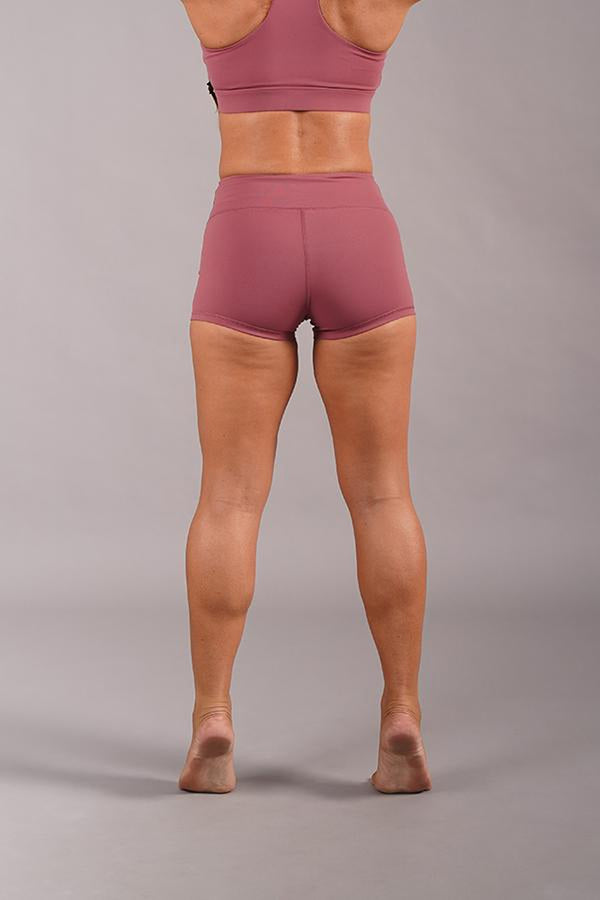 Off The Pole Lifestyle Shorts - Dusty Pink-Off The Pole-Pole Junkie