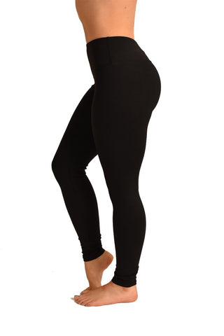 Lifestyle Leggings - Black-Off The Pole-Pole Junkie