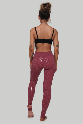 Gecko Grip Leggings - Mauve-Creatures of XIX-Pole Junkie