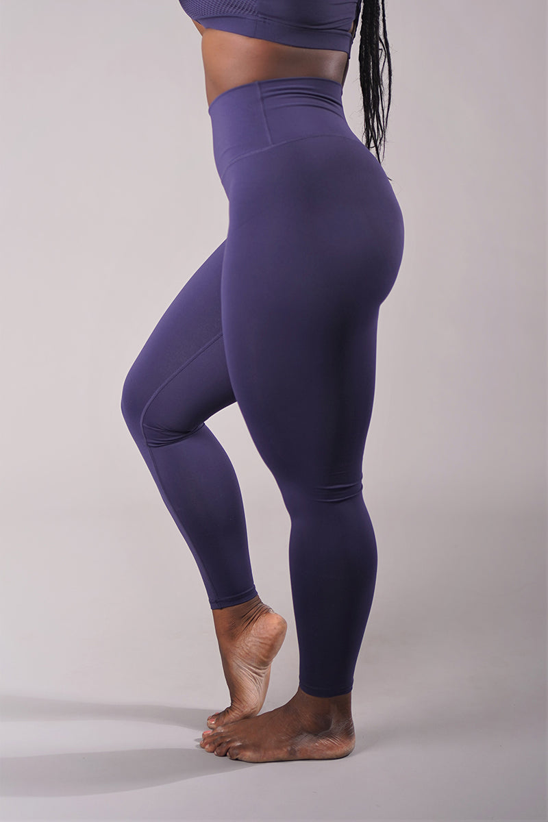 Off The Pole Scrunch Butt Leggings - Navy-Off The Pole-Pole Junkie