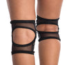 Poledancerka Knee Pads - Black (with Pocket)-Poledancerka-Pole Junkie