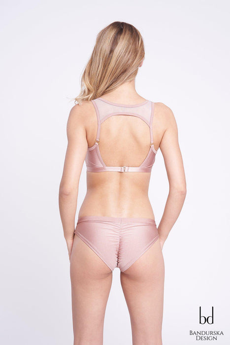 Zoe (Push-Up) Top - Nude-Bandurska-Pole Junkie