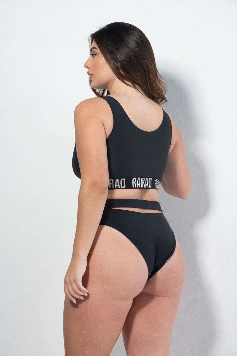 RAD Bahari Top Eco - Black-RAD-Pole Junkie