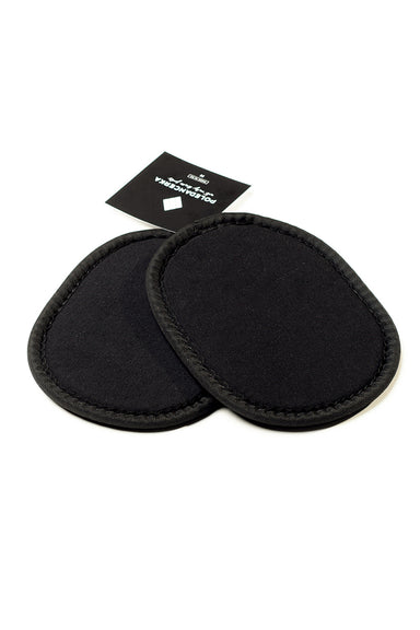 Poledancerka Removable pad inserts for Poledancerka knee pads - Black-Poledancerka-Pole Junkie