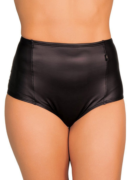 Stealth High Waisted Shorts-Cleo the Hurricane-Pole Junkie
