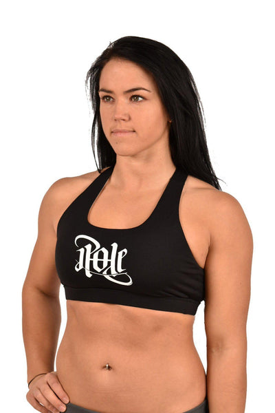 Signature Sports Bra - Black-Off The Pole-Pole Junkie