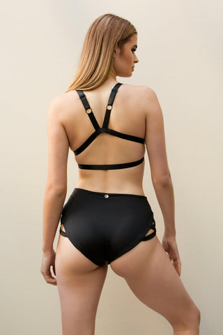 Follow Me Bra - Black-Luna Pole Wear-Pole Junkie