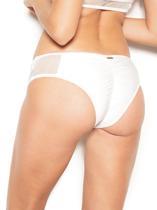Agile Mesh Bottoms - White-GALE-Pole Junkie