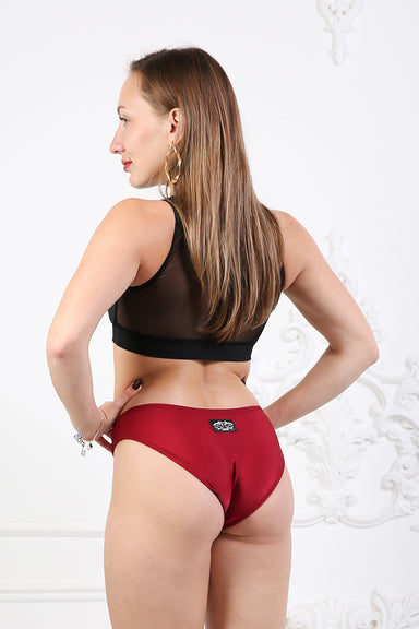 Shark Polewear Angle Shorts - Wine-Shark Polewear-Pole Junkie