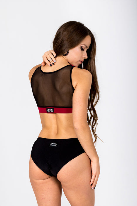 Angle Shorts - Black-Shark Polewear-Pole Junkie