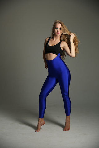 Sling Leggings - Royal Blue-Shark Polewear-Pole Junkie