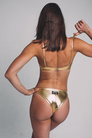 Boston Top - Gold-Shark Polewear-Pole Junkie