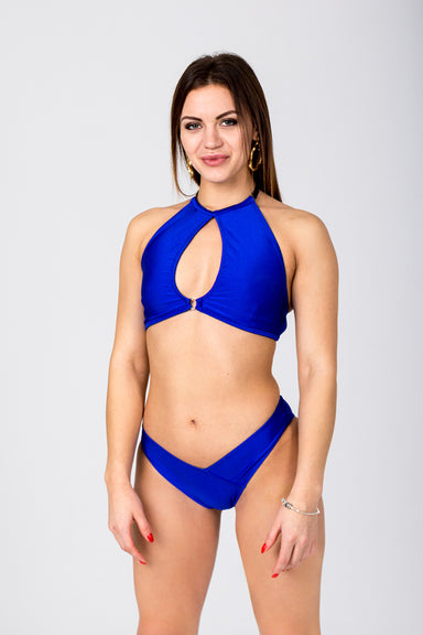 Shark Polewear Cherry Top - Royal Blue-Shark Polewear-Pole Junkie