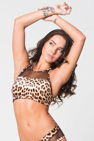 Cindy Top - Leopard-RAD-Pole Junkie