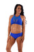 Off The Pole Mesh Sports Bra - Royal Blue-Off The Pole-Pole Junkie
