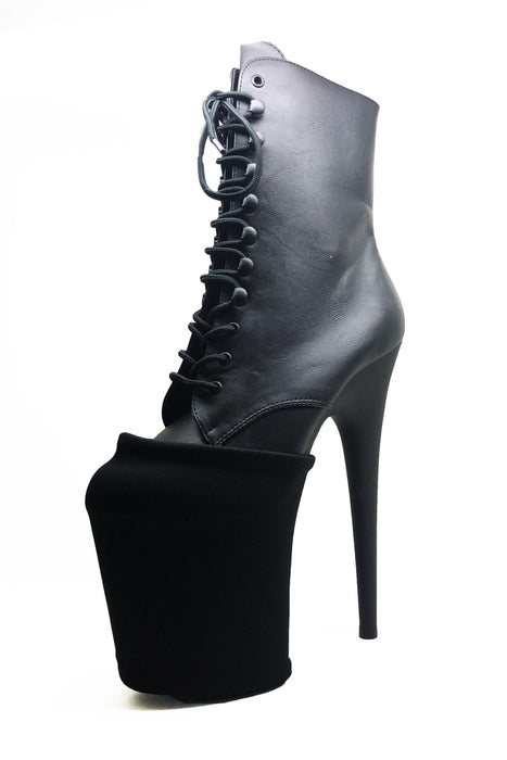Exotic Shoe Protectors - Black-Pole Addict-Pole Junkie