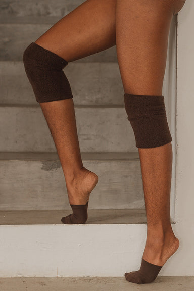 Rolling Contemporary Dance Socks - Chocolate-Rolling-Pole Junkie