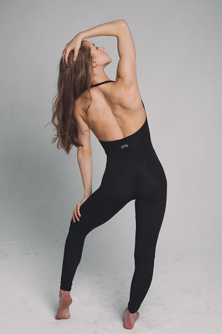 Ninja Jumpsuit - Black-Shark Polewear-Pole Junkie