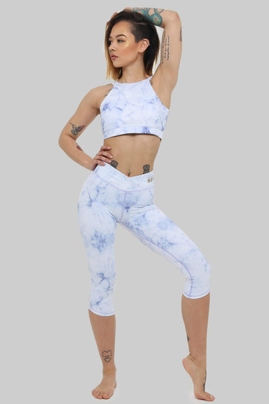 Creatures of XIX Capri Leggings - Frosted Marble-Creatures of XIX-Pole Junkie