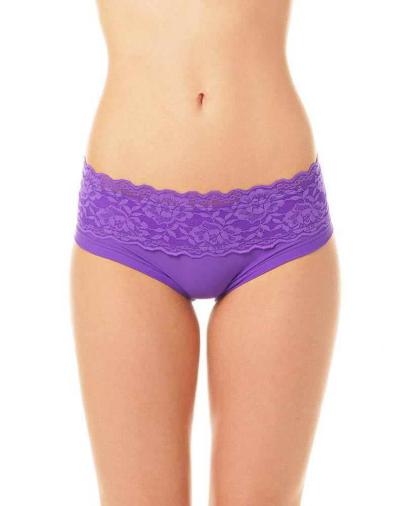Lace Edition Mia Shorts - Violet-Dragonfly-Pole Junkie