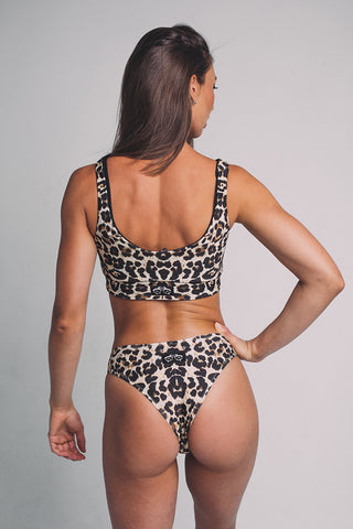 Doublesided Top - Leopard/Black-Shark Polewear-Pole Junkie