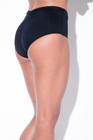Eve Shorts - Black-RAD-Pole Junkie