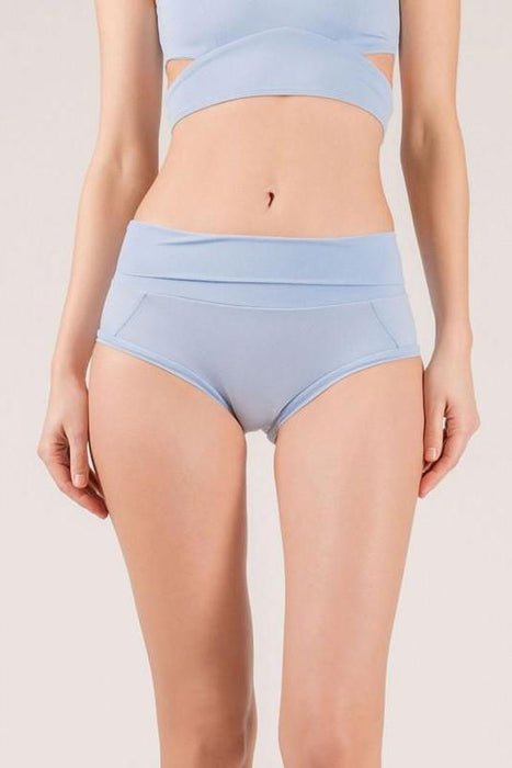 Extended Shorts - Horizon Blue-Mademoiselle Spin-Pole Junkie
