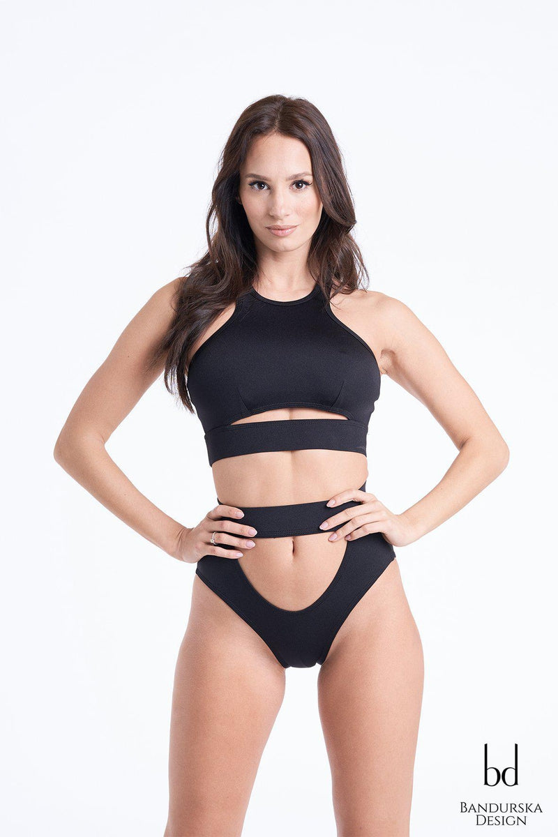 Bandurska Gattino Bottoms - Black-Bandurska-Pole Junkie