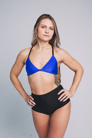 Moscow Bralette - Royal Blue-Shark Polewear-Pole Junkie